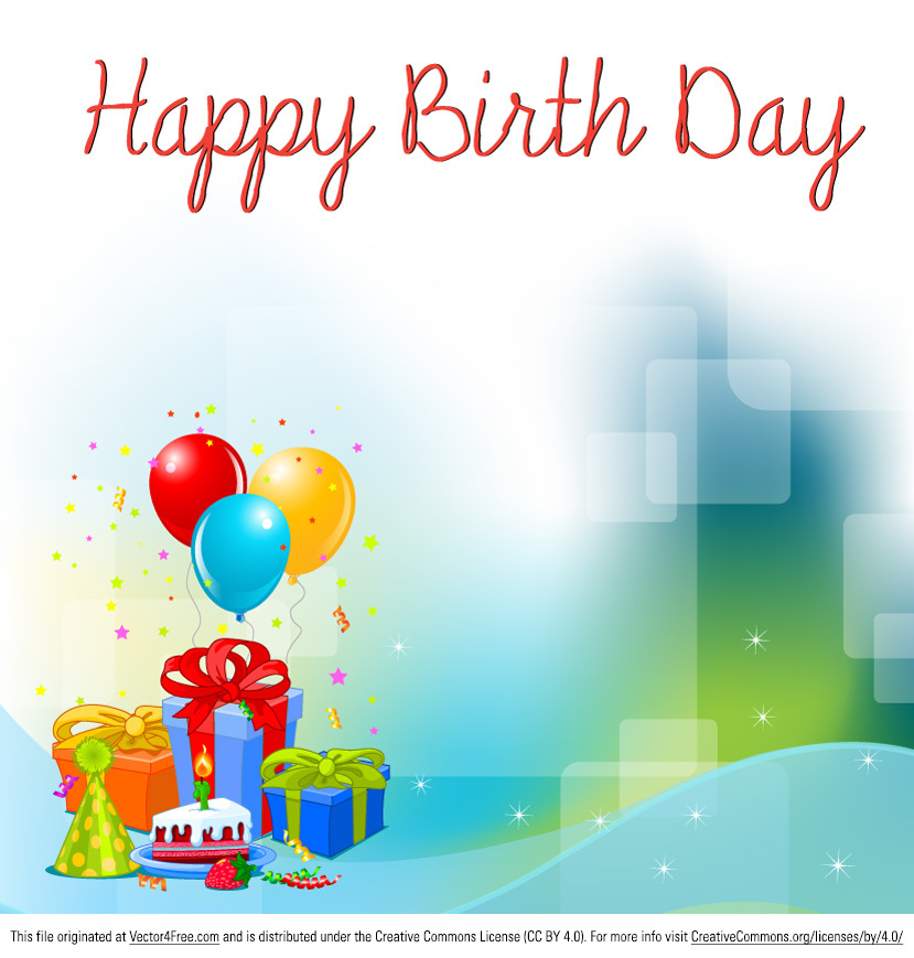 Free birthday background vector stopboris Gallery