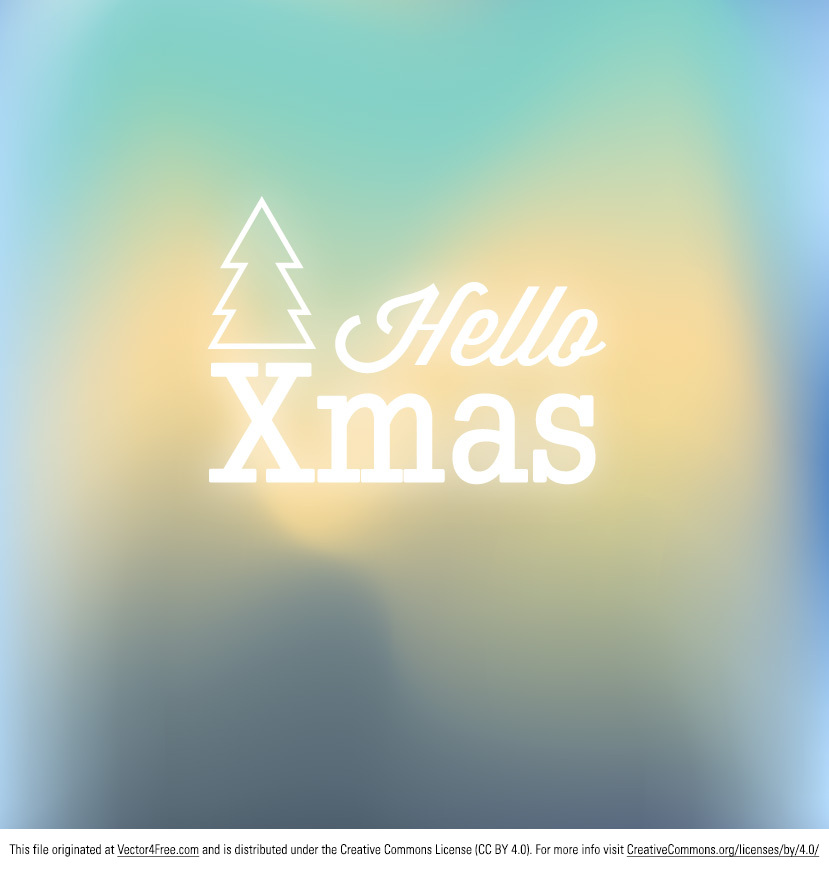 Sometimes Christmas designs get really old with red and green and red and green. Freshen up your Christmas work with this new Blurred Christmas Vector Background! This Blurred Christmas Vector Background would be great for your next xmas work. 