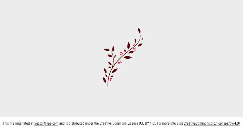 Today's freebie vector is a decorative doodle branch vector. This is a great tree branch vector with leaves that you can use for fall. Feel free to use it in commercial and non-commercial projects, personal websites and printed work, as long as it's a part of a larger design.