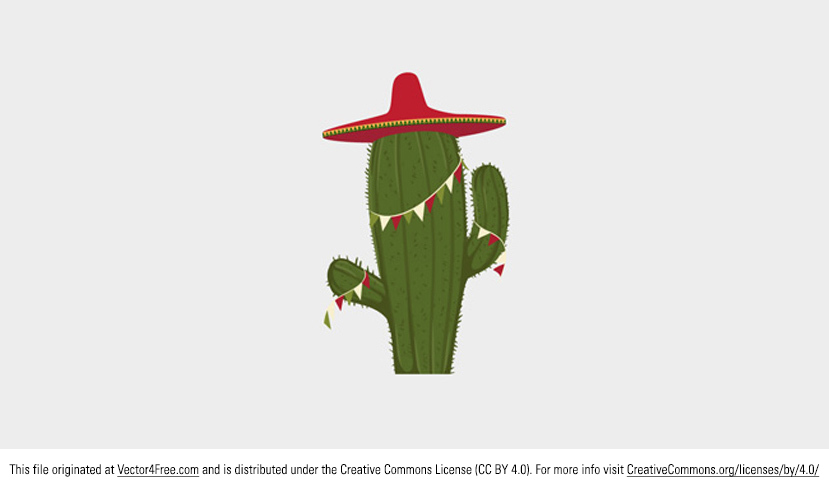 Feel like celebrating today? Go ahead with this new Festive Cactus Vector! This little festive cactus vector is just about the cutest thing ever and you'll love using it in your next project. Comment if you use it!