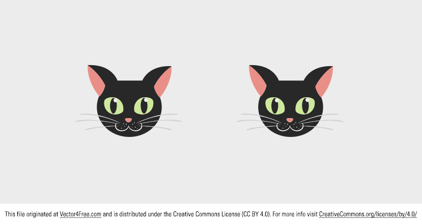 Meow! Today's freebie vector is a cute little black vector cat. Feel free to use this cat vector in commercial and non-commercial projects, personal websites and printed work, as long as it's a part of a larger design.