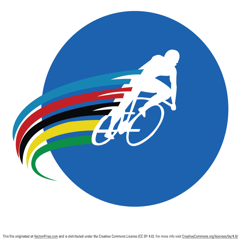 Cycling logo for pinterest
