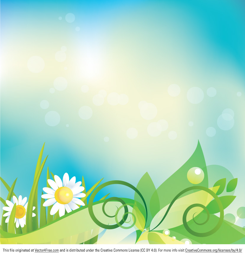 The Daisy Vector Background will freshen up your projects. Usable anywhere, this daisy vector background will enable you to work faster and save time. You will just love the natural colors of the daisy vector background and the freshness it inspires.
