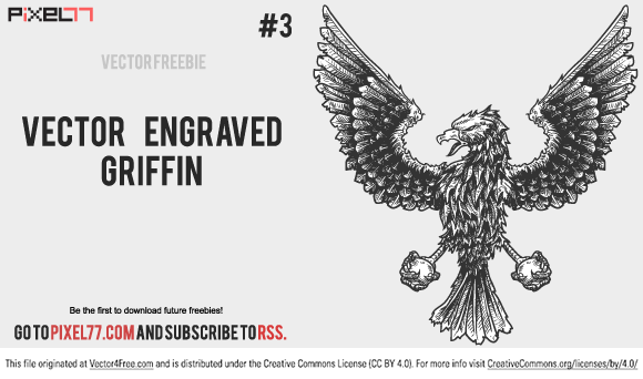 free vectors graphics - Eagle Griffin Vector