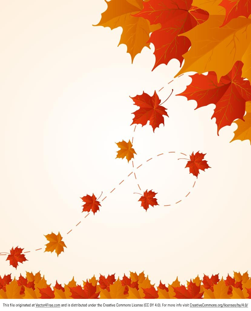 Here's a new Red and Orange Fall Leaves Vector Background! I hope everyone can use this for fall and autumn backgrounds in lots of different projects.
