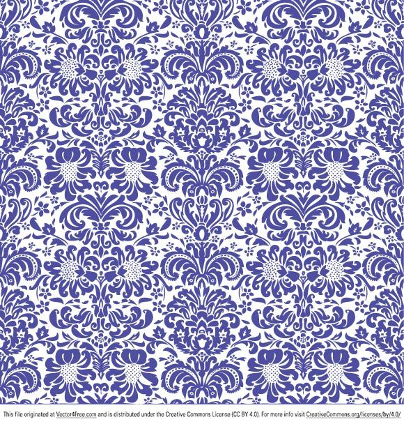 Sweet floral ornament seamless pattern made with passion for vintage wallpapers. Download and use this Adobe Illustrator AI file for free.