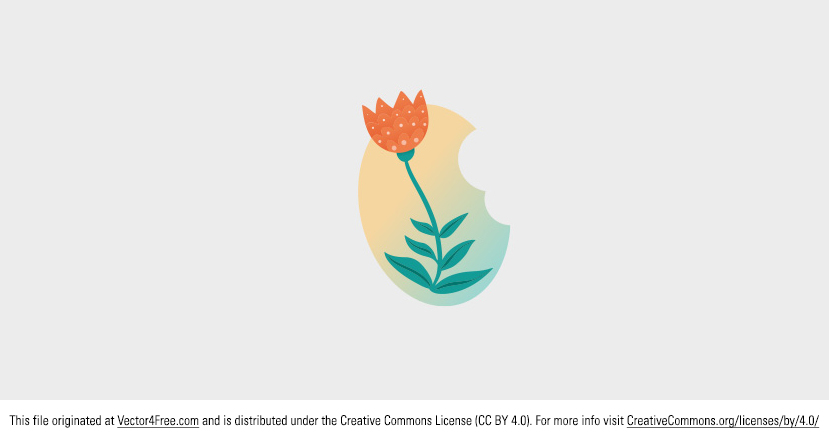 Even though it's winter it's always nice to have flowers around. Here is my new vector spring flower.   Today's freebie vector is a vector flower. Feel free to use it in commercial and non-commercial projects, personal websites and printed work, as long as it's a part of a larger design.
