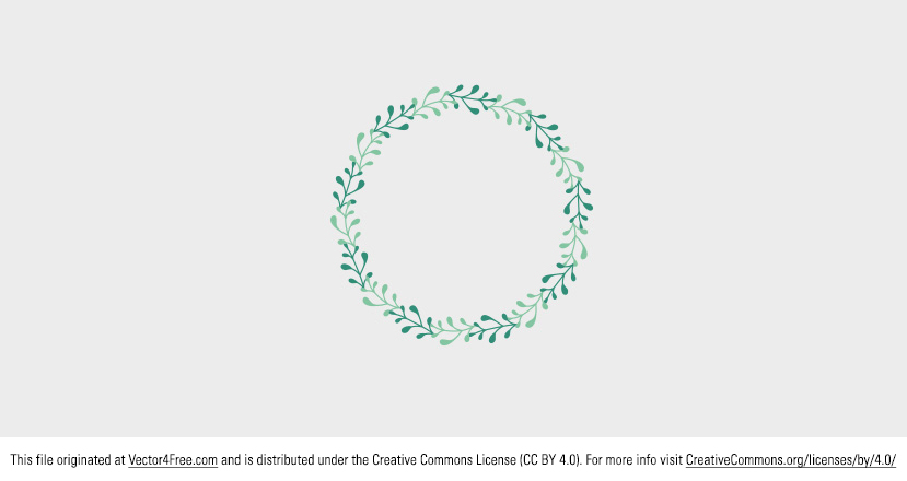 Spring is coming! So, to celebrate, use this new Laurel Spring Frame Vector to brighten your day and your work. Today's freebie vector is a spring frame. Feel free to use it in commercial and non-commercial projects, personal websites and printed work, as long as it's a part of a larger design.
