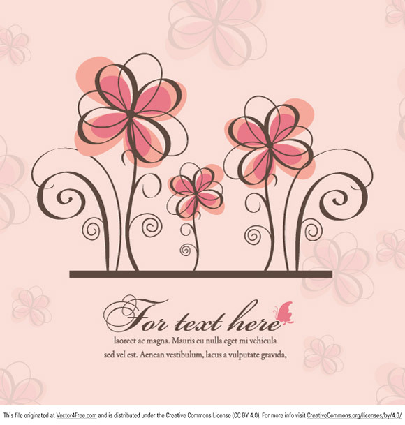 Download and enjoy this beautiful spring floral background from vectorious.net !