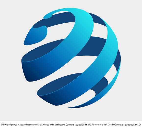 globe logo concept free vector art Cool Globe Graphics Cool Globe Graphics