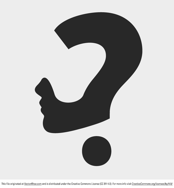 Question Mark Vector Free Question Mark Concept