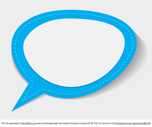 Today's free vector is a sewn chat bubble. Feel free to use it commercial and non-commercial projects, personal websites and printed work, as long as it's a part of a larger design. Please do not sell it, redistribute it yourself, claim it as your own or give it as a bonus item to boost sales for your own products.
