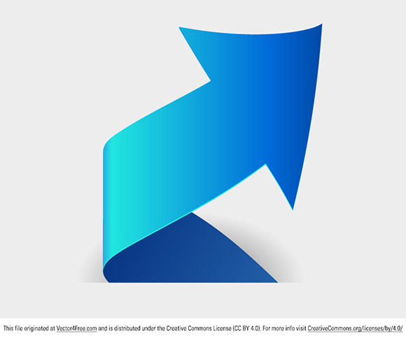 Spiral arrow logo free vector art todays freebie is a clean and stylish blue spiral arrow logo feel free to use solutioingenieria Images