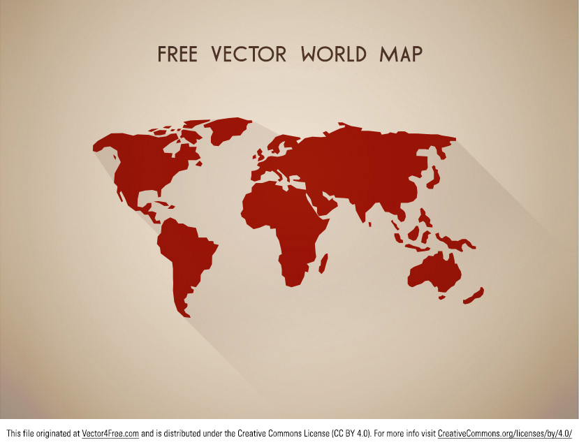 Free vector world mapg looking for an awesome new vector world map download this free vector of world map gumiabroncs Images