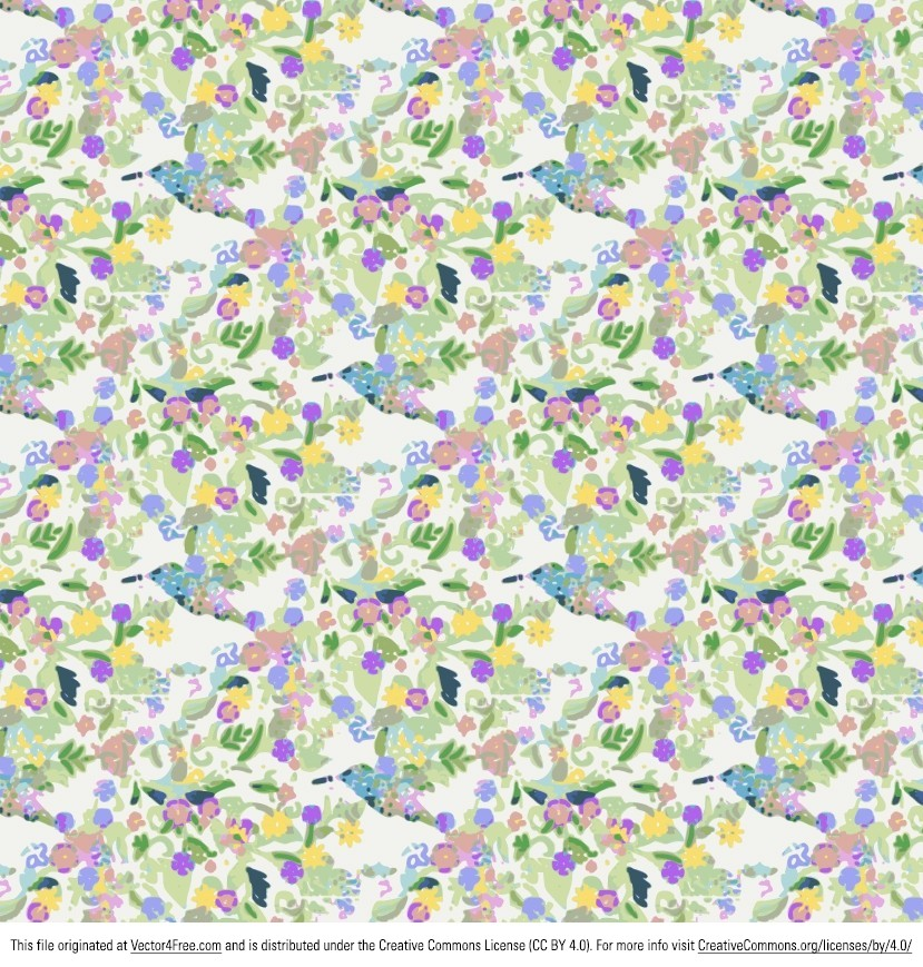 You can really make your designs get noticed with this Funky Flowers Background vector! I'm excited to share another free vector with you! With a vintage feel, this free funky flower background vector works great with any kind of project you might have. I hope you love this funky flower background.