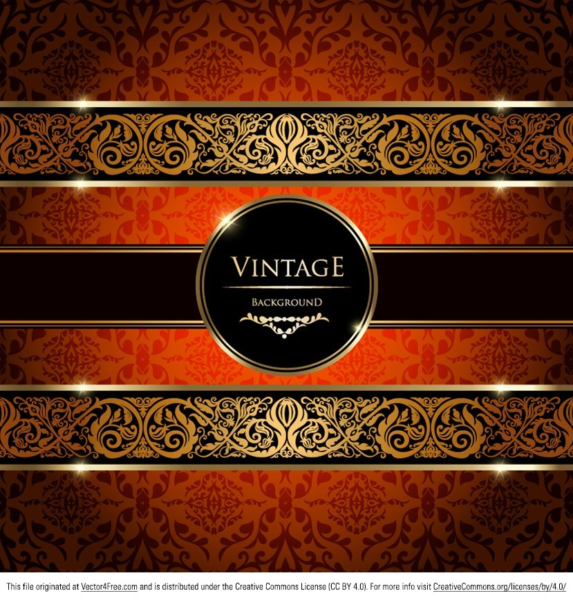 Make your design look upper-class with this Gold Damask Vintage Background Vector. You'll come to love this gold damask vintage background vector when you'll see how much more beautiful it can make your designs look. And taking into consideration that it's free, you really have to download this gold damask vintage background vector right now!