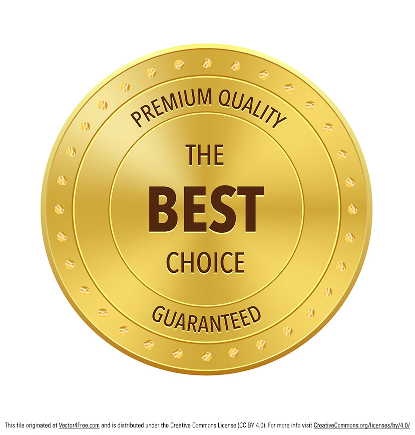 Vector badge golden best choice award badge or emblem. Hope you can ...