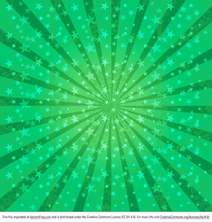 green sunburst background - photo #25