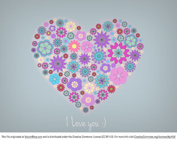 This Free Heart Vector was created with Adobe Illustrator CS5.