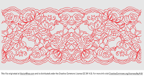 Great lace pattern in a vector format. 