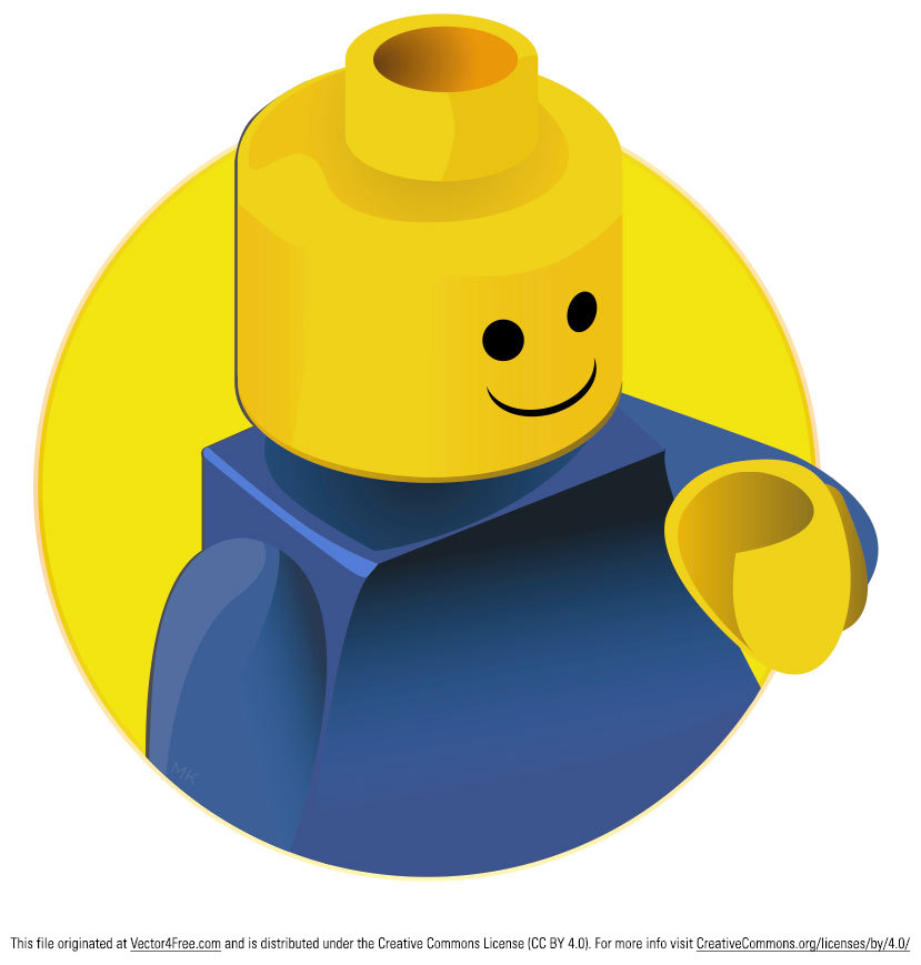 lego man vector - photo #4