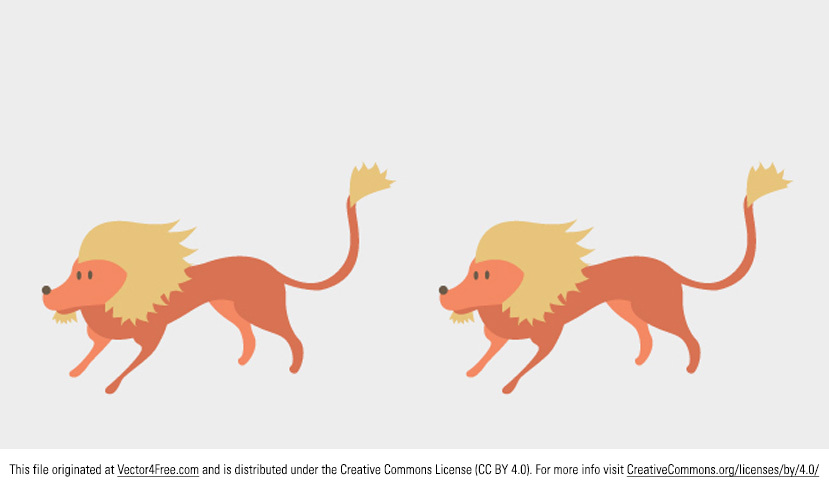 Introducing the new Lion Vector Cartoon! This adorable little lion vector is a bit scared, as you can see. This Lion Vector Cartoon would be perfect for all your animal vector needs.   Feel free to use it in commercial and non-commercial projects, personal websites and printed work, as long as it's a part of a larger design. Please do not sell it, redistribute it yourself, claim it as your own or give it as a bonus item to boost sales for your own products. Download it now!