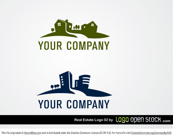 Great Real Estate Logo in vector format. Ideal for headers, banners, sites or as a template as a whole. This Vector is Under Creative Commons Attribution License.
