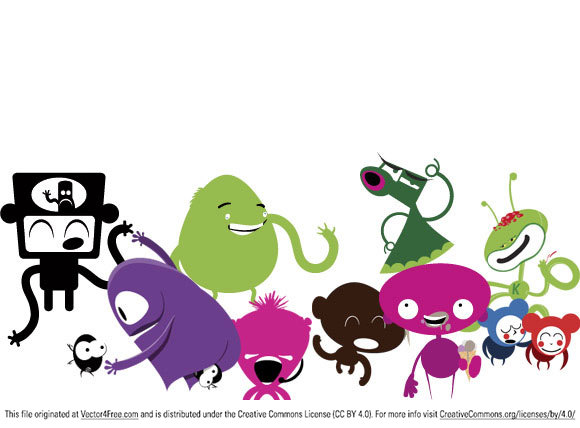 This Monster Vector Pack is a selection of 10 monsters created by David Liwoch over at www.CustomHorror.net.