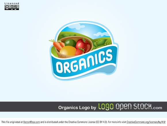 This is an incredibly detailed and refined vector logo design. With vector vegetables and fruits. Also farm landscape at the back. Great for natural ecologic products. This logo is under Creative Commons Attribution Non-Commercial. You can use it for personal use. If you are going to use this commercially please contact Logo Open Stock. Enjoy!