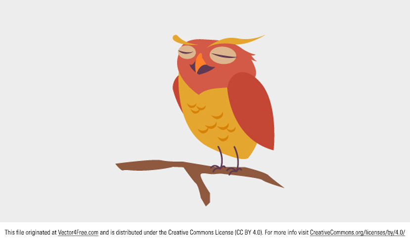 Today I'm introducing an awesomely cute Owl Vector! This little owl vector friend would be the perfect addition to your work. Use this cute owl vector today!