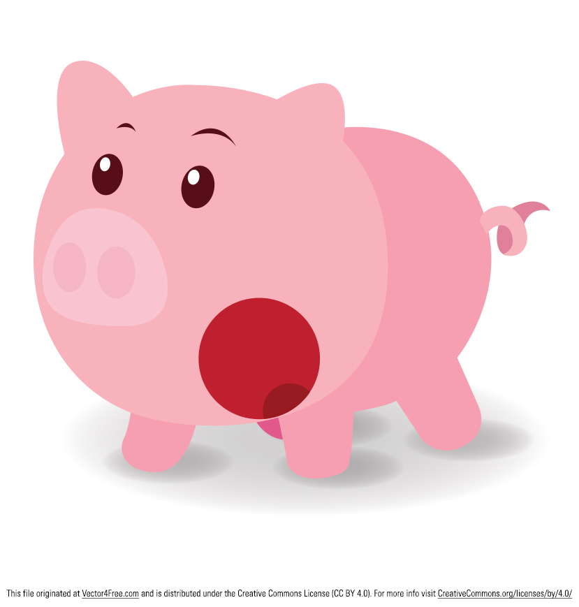Check out my free pig vector! This Vector Surprised pig is designed for those who need to design beautiful packaging using cute animals or farm animals. Enjoy!