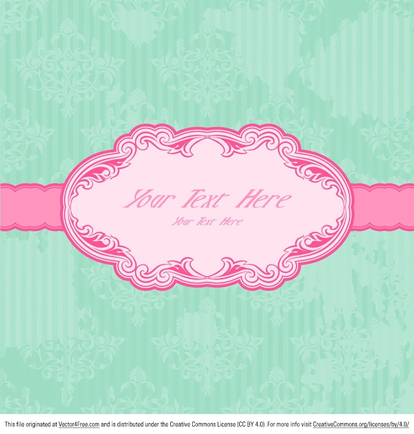 Start using this Pink Vintage Label vector and get your productivity going. Very stylish, this pink vintage label vector can make for a great invitation. But whatever the project, you can be sure this pink vintage label will create an impact.