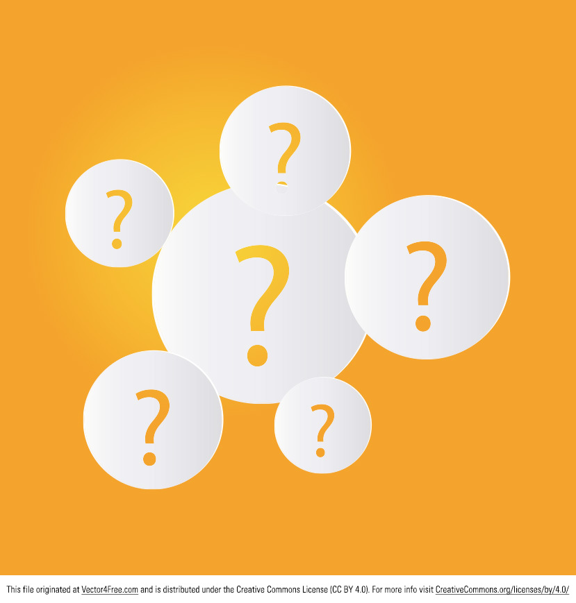 Ask the right questions and you'll get the Question Mark Vector. The new free question mark vector has a modern, simple look, making it so beautiful. Perfect for any kind of project, the question mark vector will not only make your design look better, but also save you time.