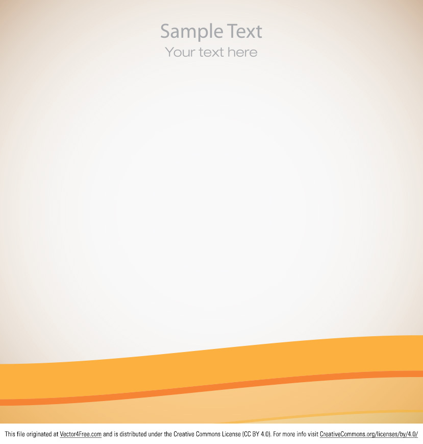 ... free simple orange vector background is so vibrant and modern that you