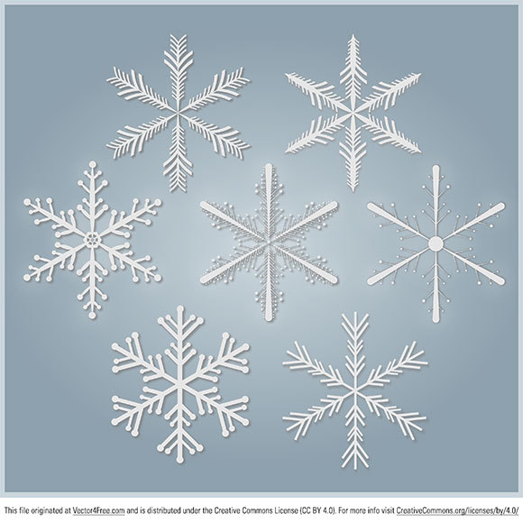 7 Snowflakes Free Vector in the .PDF format free to download. You can use this free christmas vector for your personal and commercial projects. Merry Christmas from PEPSized Team ;)