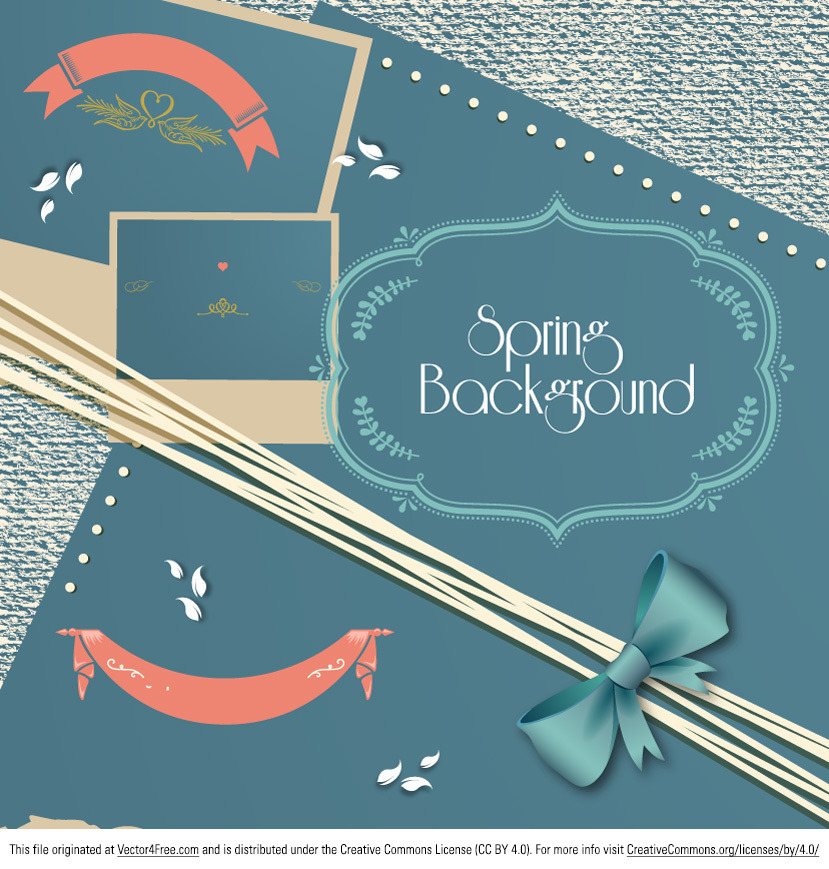 Here's the new Spring Scrapbook vector! Get your scrapbook hat on and make good use of the new free spring scrapbook vector set. From picture frames to ribbons, this spring scrapbook vector set has what you need for your project!