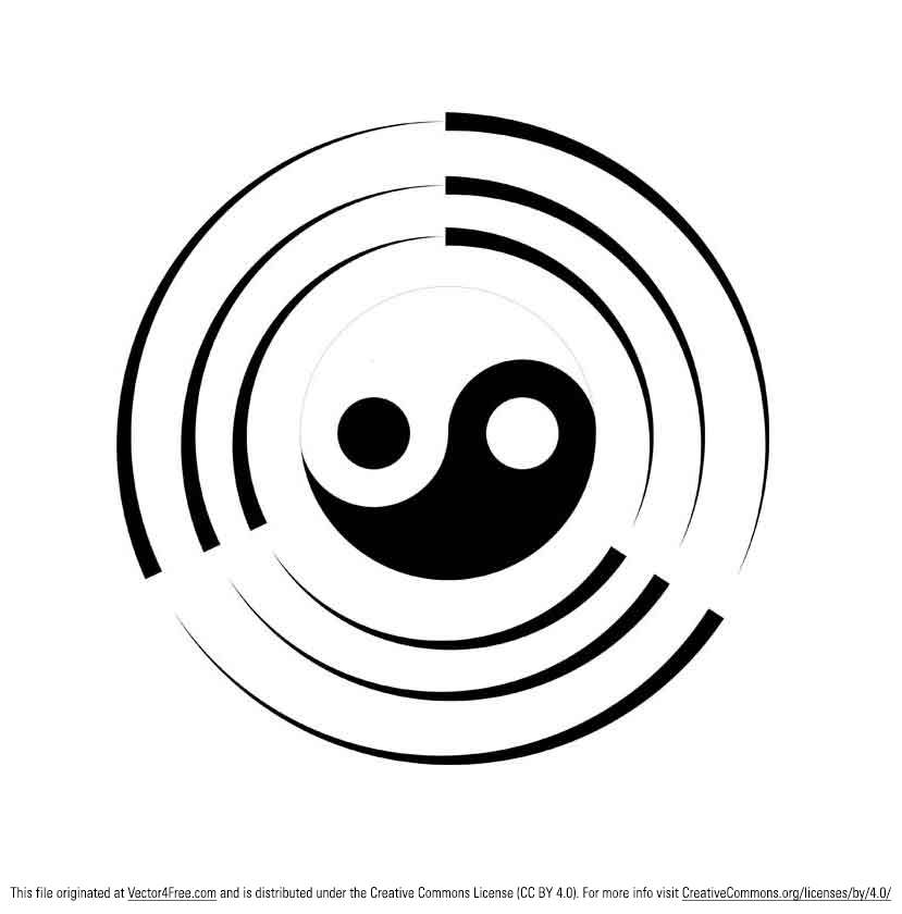 download this Related Pictures Ying Yang Tigre Dragon picture