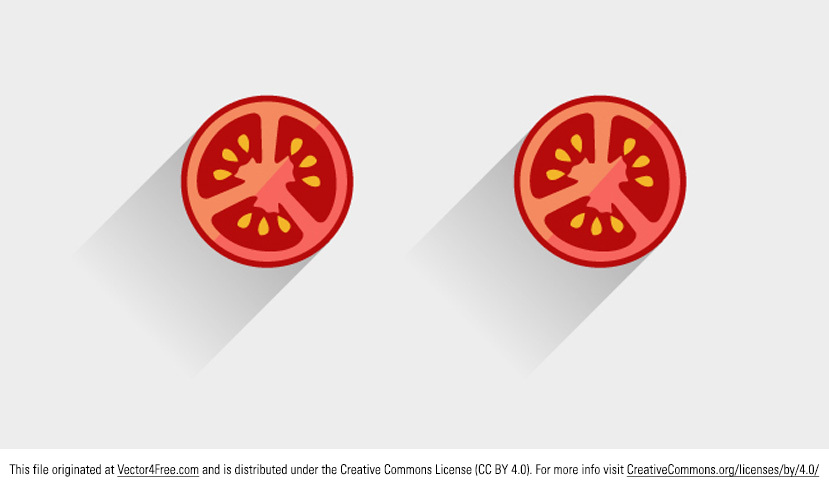 It's summer! Doesn't that make you want to stuff yourself with tomatoes? Well now you can stuff your designs with tomato vectors! This new tomato vector is perfect for summer. Enjoy!
